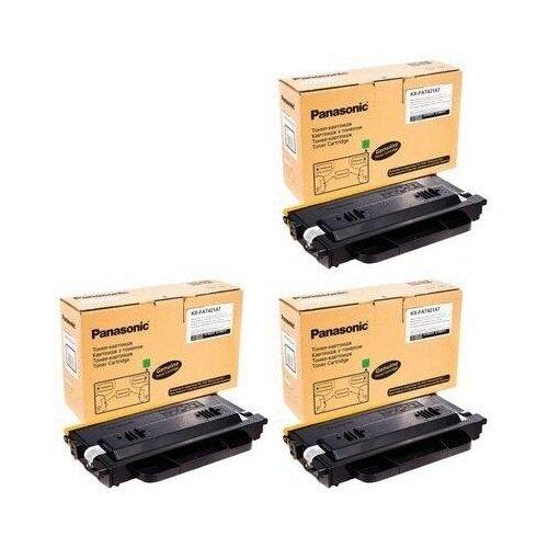 Panasonic KX-FAT421A7-3PK Картриджи комплектом черный 3 упаковки [выгода 3%] Black 6K для KX-MB2230RU KX-MB2230, KX-MB2270RU KX-MB2270, KX-MB2510RU KX-MB2510, KX-MB2540