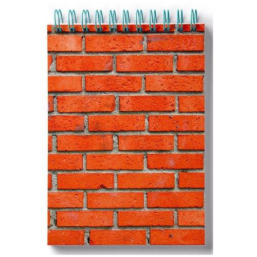 Блокнот для зарисовок, скетчбук Кирпичная стена