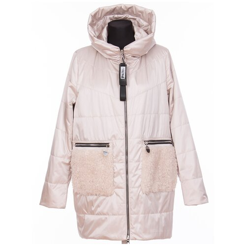 Фото - Куртка Visdeer, размер 58, бежевый куртка icepeak 650010588iv размер 140 бежевый