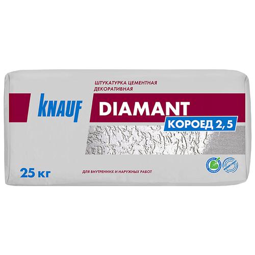 Декоративное покрытие KNAUF Diamant Короед 2.5 мм 25 кг