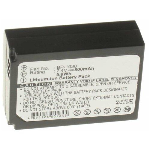 Аккумулятор iBatt iB-B1-F323 850mAh для Samsung BP1030, BP-1130,
