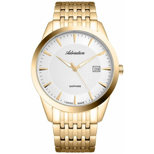 Фото - Швейцарские часы наручные мужские Adriatica A1288.1113Q мужские часы adriatica a1246 5217q