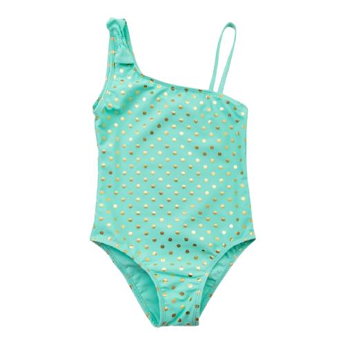 Купить Купальник Minaku размер 140-146, зеленый, Белье и купальники