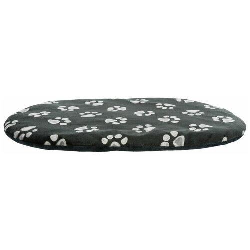 Лежак Jiммy, овал, 70 х 47 см, черный, Trixie (товары для животных, 36614)