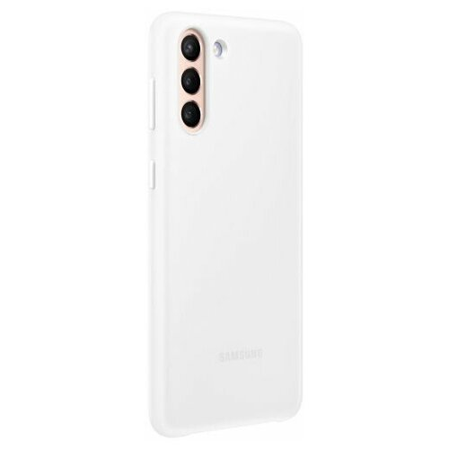 Чехол Samsung Smart LED Cover для Galaxy S21+ белый