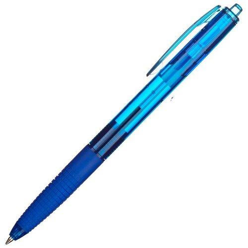 Купить Ручка шариковая PILOT Super Grip BPGG-8R-F-L авт.резин.манжет.синяя 0.22мм 3 штуки, Ручки