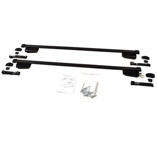 Багажник на крышу (на рейлинги) FORD Kuga 2016- BELT 120 LUX, 844024.FORD.014, Чёрный