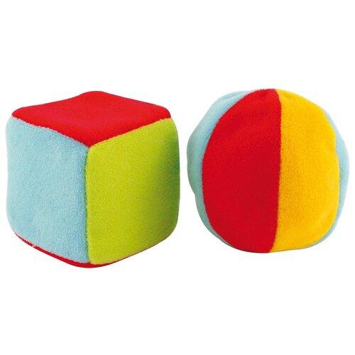 Купить Развивающие игрушки Canpol babies Кубик и мячик, 0+, мягкие (250928011)