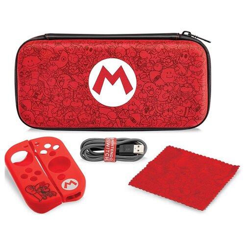 Чехол Mario Remix и набор аксессуаров для Nintendo Switch