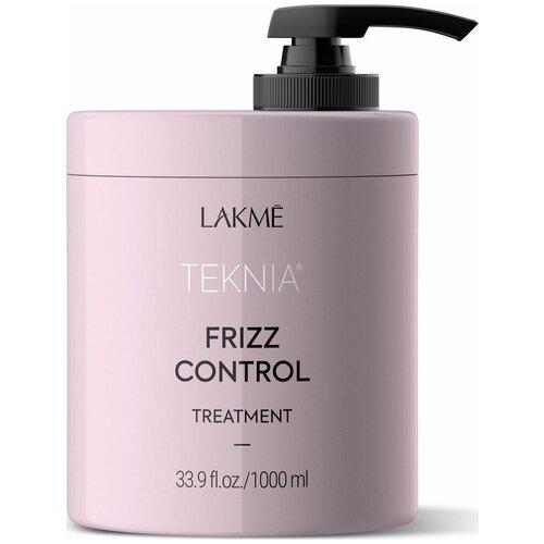 Lakme Teknia Frizz Control Treatment Дисциплинирующая маска для непослушных или вьющихся волос, 1000 мл недорого