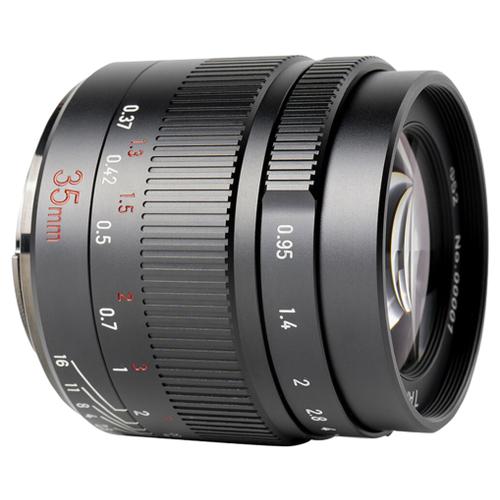 Фото - Объектив 7artisans 35mm f/0.95 Canon M черный объектив 7artisans 18mm f6 3 canon eos m mount