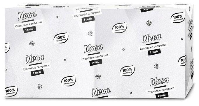 Салфетки Nega белые — купить по выгодной цене на Яндекс.Маркете