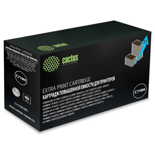 Фото - Картридж Cactus CS-C719H-MPS, совместимый картридж cactus cs c719h mps совместимый