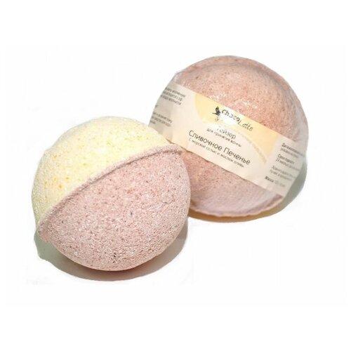 Фото - ChocoLatte Бурлящий шар для ванн Сливочное печенье, 120 г ресурс здоровья бурлящий шар ванильный бум 120 г