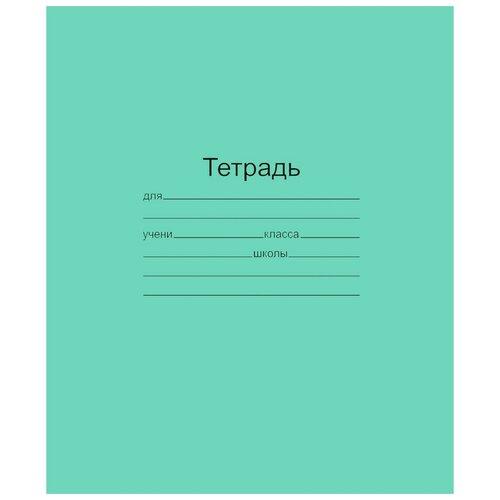 Купить Тетрадь школьная А5, 24л, клетка, 10шт/уп зелёная Маяк Т5024 Т2 ЗЕЛ5Г 2 штуки, Маяк Канц, Тетради