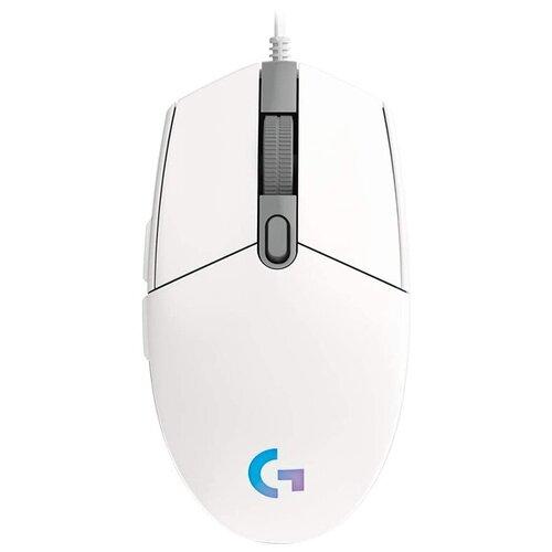 Фото - Мышь Logitech G G102 Lightsync, белый мышь logitech g102 lightsync black usb