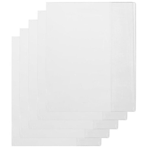 Купить №1 School Набор обложек для учебника Петерсон 267х420 мм, 110 мкм 5 шт (698561) прозрачный, Обложки