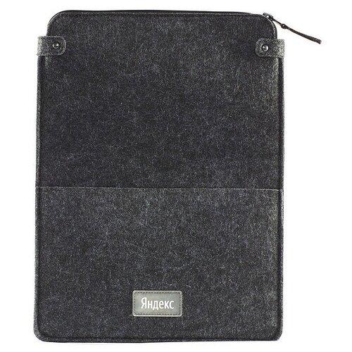 Чехол для ноутбука войлочный Яндекс, серый