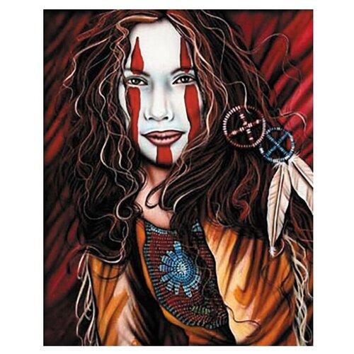 Купить Цветной картина по номерам Принцесса планеты Марс, 40х50 см, Картины по номерам и контурам