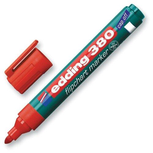 Купить Маркер для флипчартов по бумаге (флипчарт) EDDING E-380/2 красный 2 штуки, Маркеры