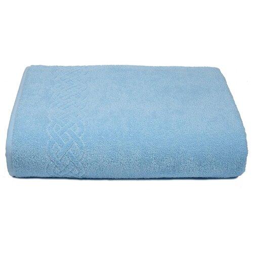 Простынь махровая Plait - 200х220 см - Цвет 131 - голубой, ДМ-Люкс