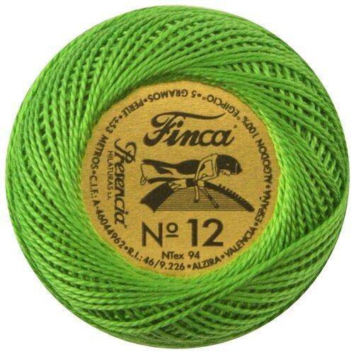 Купить Мулине Finca Perle(Жемчужное), №12, однотонный цвет 4643 53 метра 00008/12/4643, Мулине и нитки для вышивания