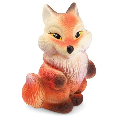 Фото - Игрушка для ванной ОГОНЁК Лиса Алиса (С-683) оранжевый игрушка для ванной огонёк лев бонифаций с 644 оранжевый