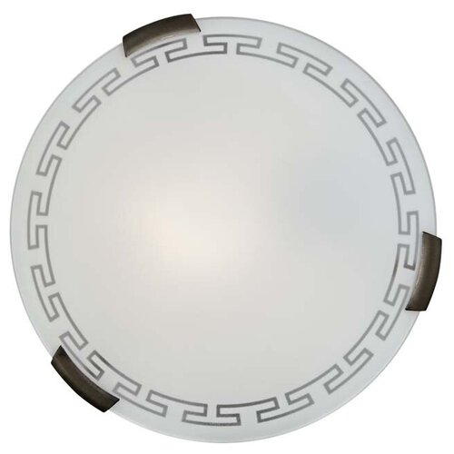 Настенно-потолочный светильник Сонекс Greca 161/K, E27, 120 Вт, кол-во ламп: 2 шт., цвет плафона: белый светильник без эпра сонекс greca 361 d 50 см e27