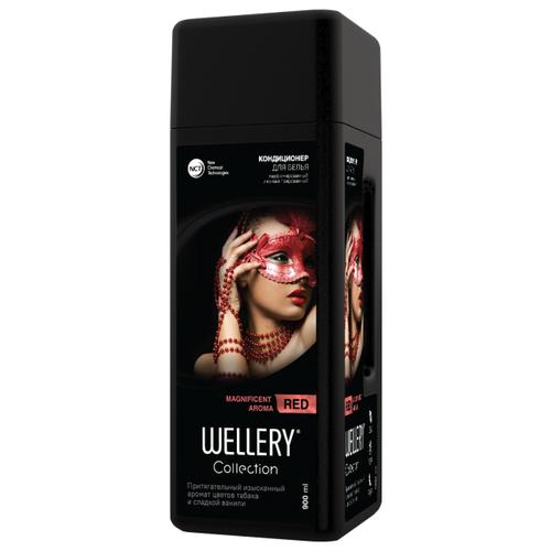 Фото - Wellery Парфюмированный кондиционер для белья Collection Red с ароматом цветов табака и сладкой ванили, 0.9 л wellery кондиционер для белья wellery парфюмированный collection blue 900 мл