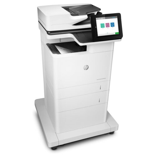 МФУ HP LaserJet Enterprise M635fht, белый/черный