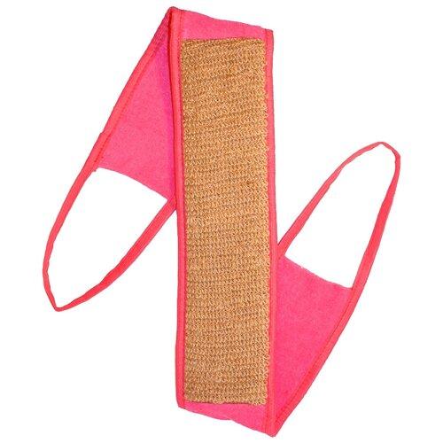 Мочалка Eva Ladies с ручками, крапива розовый  - Купить