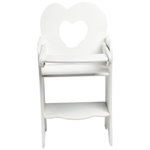 PAREMO Кукольный стульчик для кормления Мини (PFD120M) белый paremo кукольный стульчик для кормления мини pfd120m белый
