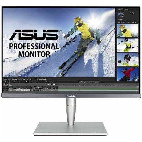 Монитор ASUS ProArt PA24AC 24.1, серебристый/черный монитор asus vg248qe 24 черный