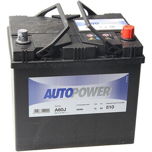 Автомобильный аккумулятор Autopower A60J