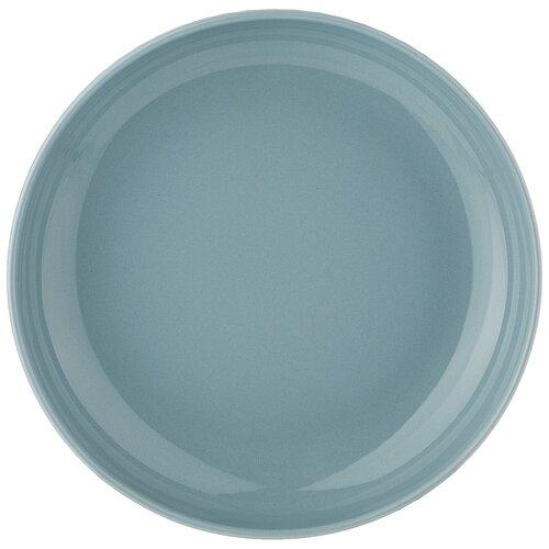 Тарелка глубокая majesty 20,5см голубая Lefard (143566)