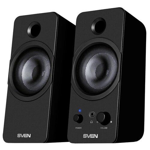 Компьютерная акустика SVEN 430 черный портативная акустика sven ps 68 черный