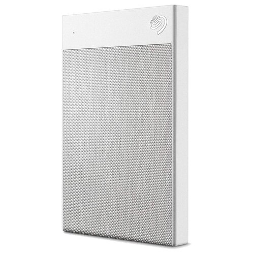 Фото - Внешний HDD Seagate Backup Plus Ultra Touch 2 TB, белый внешний hdd seagate backup plus slim portable drive 2 tb розовое золото текстурный