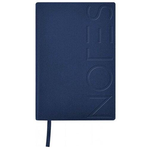 Купить Ежедневник LOREX Notes classic недатированный, А5, 128 листов, синий металлик, Ежедневники, записные книжки