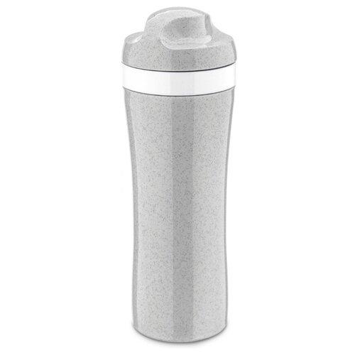 Фото - Бутылка для воды, для безалкогольных напитков Koziol OASE Organic 0.42 пластик серый бутылка для воды koziol plopp to go organic 0 42 пластик синий