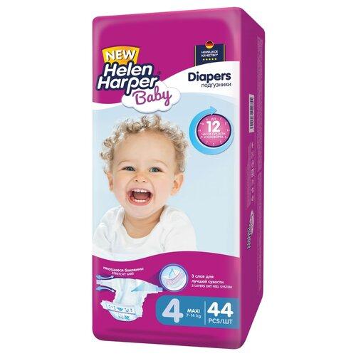 Helen Harper подгузники Baby 4 (7-14 кг), 44 шт., Подгузники  - купить со скидкой