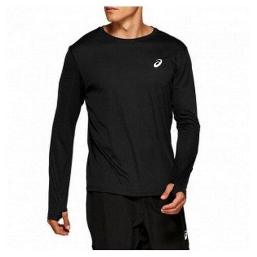 Лонгслив мужской ASICS 2011A010 001 SILVER LS TOP 2011A010001 размер 44 цвет черный