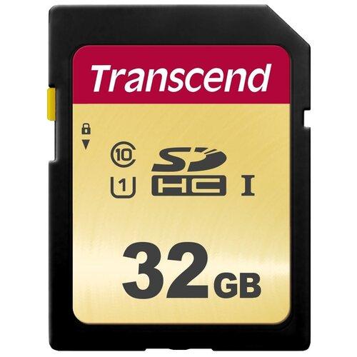 Фото - Карта памяти Transcend TS*SDC500S 32 GB, чтение: 95 MB/s, запись: 60 MB/s карта памяти cf 128gb transcend 800x 120 60 mb s