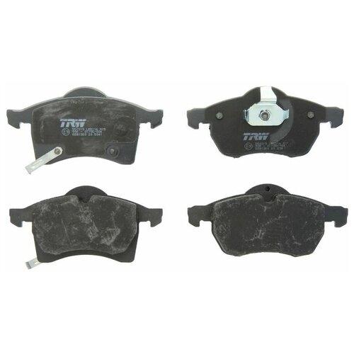 Дисковые тормозные колодки передние TRW GDB1350 для Opel Corsa, Opel Astra, Opel Zafira (4 шт.) дисковые тормозные колодки задние bosch 0986424646 для opel astra opel zafira 4 шт