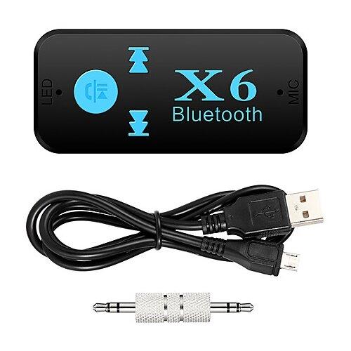 Автомобильный Bluetooth ресивер адаптер AUX /устройство громкой связи / BT-X6