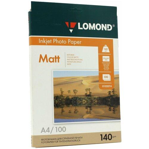 Фото - Бумага Lomond A4 Photo Paper 0102074 140 г/м² 100 лист., белый бумага lomond a4 photo paper 0102003 120 г м² 100 лист белый