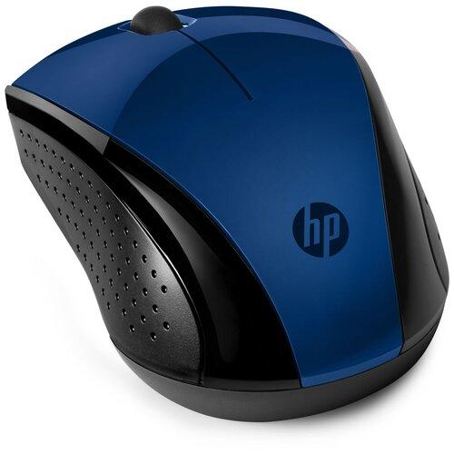 Беспроводная мышь HP 220, черный/синий