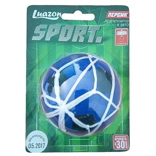 Фото - Luazon Ароматизатор для автомобиля Sport Футбольный мяч, персик luazon ароматизатор для автомобиля яркий сочный тропический