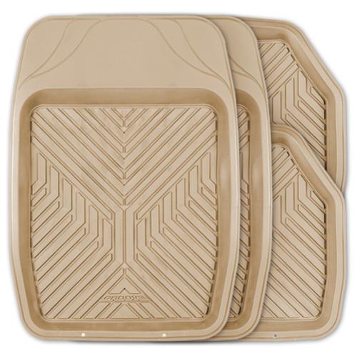 Фото - Комплект ковриков салона AUTOPROFI TER-150 4 шт. бежевый комплект ковриков autoprofi pet602 4 шт черный