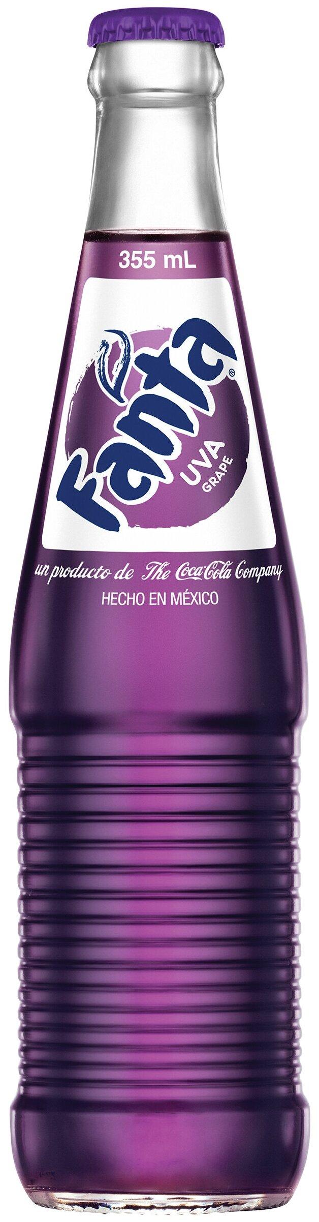 Газированный напиток Fanta Grape, Мексика — купить по выгодной цене на Яндекс.Маркете