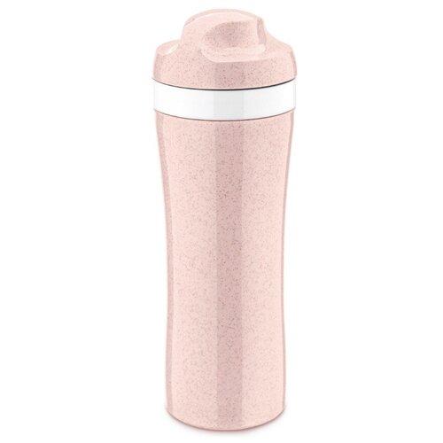 Фото - Бутылка для воды, для безалкогольных напитков Koziol OASE Organic 0.42 пластик розовый бутылка для воды koziol plopp to go organic 0 42 пластик синий